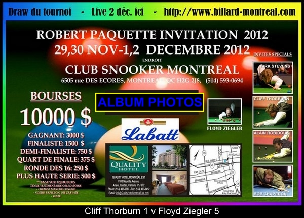 billard quebec tv